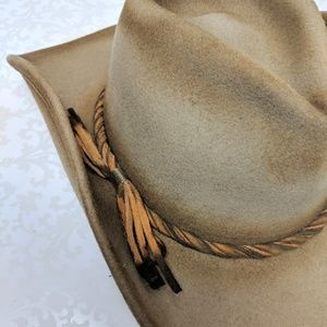 186724c45 Shady Brady Wool Cowboy Hat Sz M